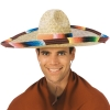 Adult Sombrero with Serape Band and Edge